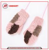 Kind-Handschuh-Baby-Handschuh-Winter-warme nette Mädchen-Handschuhe Herbst und Winter-Form-Handschuhe