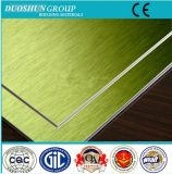 Painel composto de alumínio de superfície escovado Alucobond do ACP