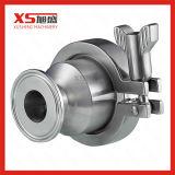 Aço inoxidável SS304 Tri Clover Vlr medidas sanitárias das Válvulas de Retenção