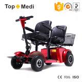 Tew8025bの倍2 2高齢者と身体障害者のためのシート4の車輪の移動性のスクーター