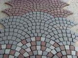 Плитки Paver разделения желтой сетки вымощая камня гранита Pavers гранита G682 каменной естественные