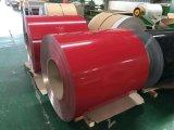 Haute qualité couleur feuille en aluminium à revêtement PVDF/bobine pour la décoration