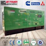 無声タイプディーゼル発電機の水によって冷却される携帯用発電機15kVA