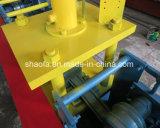 A venda quente galvanizou o rolo da porta do obturador do rolo do frame que dá forma à máquina