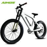 Venta caliente bonita montaña barato bicicleta eléctrica con horquilla de suspensión
