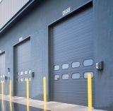 中国の新しいデザイン高い持ち上がるオーバーヘッド産業部門別のドア