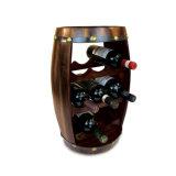 Het houten Uitstekende Rek van de Vertoning van de Wijn van het Bier van het Krat van het Vat