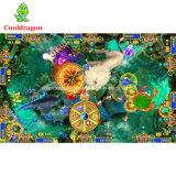 Máquina de jogos dos peixes do tiro do jogo dos peixes do prendedor da arcada da pesca da batida do leão