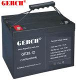fornitore libero della batteria al piombo di 12V 35ah Maintenace VRLA di indicatore luminoso Emergency della batteria ENV della batteria del comitato solare della batteria dell'UPS della Banca di telecomunicazione di potere