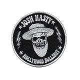Logo personnalisé 100 % patch broderie/patches