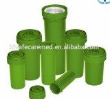 Duiken de Plastic Plastic Flesjes van de pil Flesjes, de AmberFlesjes van het van een scharnier voor*zien-Deksel, Geneeskunde van de Flesjes van de Flesjes van de Flesjes van het Voorschrift de Omkeerbare Medische op