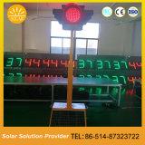 交通安全のための太陽交通標識の警告の信号