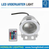 다채로운 원격 제어 수중 빛 LED 방수 스포트라이트 RGB 샘 빛