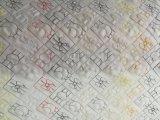 コンピュータ化された二重に列のキルトにすることおよび刺繍機械(GDD-Y-217*2)