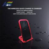 Горячая продажа универсальных мобильных телефонов быстрое беспроводное зарядное устройство для беспроводной связи стандарта Qi сенсорной панели Samsung для Huawei
