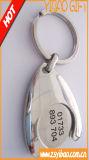 La conception de fleur en métal de haute qualité trousseau pour cadeau promotionnel (YB-LY-K-25)