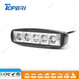 lámpara auto de la luz del coche de 6inch 15W LED para el carro