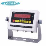 表示器の重量を量るユニバーサル電子デジタル