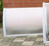 Plattform-Aluminiumim freienmetallmarkise mit hochfestem Polycarbonat-Körper-Blatt