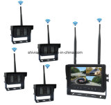 4 Kanal-drahtlose Rückkamera eingestellt mit Aufnahme-Monitor
