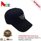 Fabrication de la Chine de casquette de baseball de Snapback de femmes de qualité avec de plaque métallique