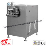 300L/Hの高圧、酪農場処理のホモジェナイザー