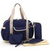 새로운 도착 2 색깔 어깨에 매는 가방 기저귀 부대