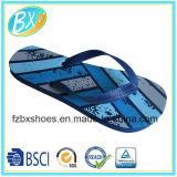 Sandálias ocasionais da praia da forma dos falhanços da aleta do PE dos homens internas & deslizadores ao ar livre
