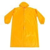 Vêtements de pluie en caoutchouc PVC étanche jaune d'imperméables hommes Manteaux de pluie
