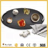 Platen de van uitstekende kwaliteit van de Sushi van de Steen van de Lei, de Platen van de Dienst voor Vaatwerk