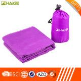 高い吸収のロゴによって印刷されるタオルはとの袋を運ぶ