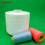 Matières à haute ténacité Blanc 100 % polyester Fabricant de fils à coudre