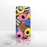 iPhoneの範囲のための甘い店のコレクションの電話箱。 レトロの一突き及び組合せ3D