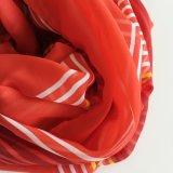 Af:drukken van het Ontwerp van Elegent van de manier het Nieuwe Vierkante Rode Dame Silk Scarf (SC009)