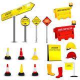 Straßen-Blocker, Straßen-Verkehrs-Sperre, HDPE Straßen-Blocker