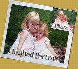 Portrait-Anstrich-Studio