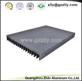 Perfiles de aluminio modificados para requisitos particulares para la visualización de LED y la cabina de cocina