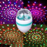 최신 Sale E27 3W LED Full Color Rotating Lamp
