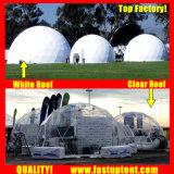 Удалите прозрачный белый ПВХ высокого качества купол палатки