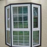 Окно балкона UPVC с конструкцией решеток