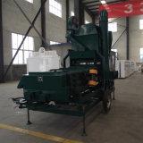 ヒマワリの種の精穀機械