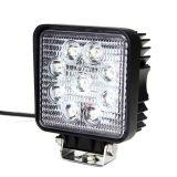 12V 24V 4in quadratische 27W LED Arbeitslampe für Traktor-LKWas