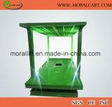Levage hydraulique de véhicule de garage souterrain