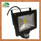 30W LED Flood Light con PIR Sensor (EB-89724)
