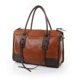 Bolso de mano de cuero genuino de señoras bolsa de moda bolsos de mano de diseñador