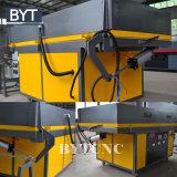 Larga vida de servicio Bytcnc máquina laminadora de PVC puertas