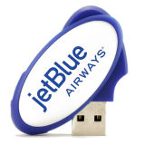 Formato Oval Oval rotativo USB Flash Drive USB