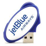 Ovaler Form USB, der ovales USB-Blitz-Laufwerk dreht