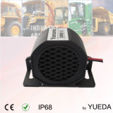 10-48V 107dB impermeabilizan la inversión de la alarma con la cubierta de nylon