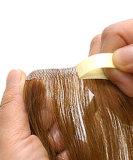 Estensioni di trama dei capelli della pelle (FJSW-06)